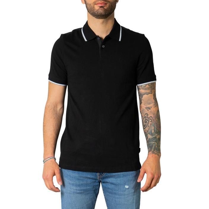 Armani Exchange Men's Polo Shirt Black 243507 - black S