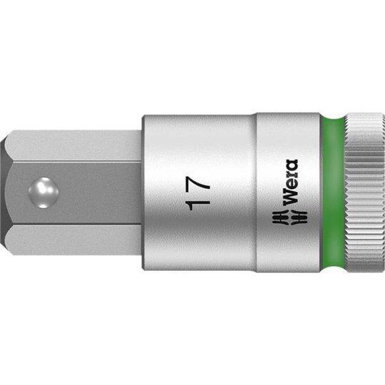 "Wera 8740 C HF Kuusiokolohylsy 1/2"" 17 mm, pituus 60 mm"
