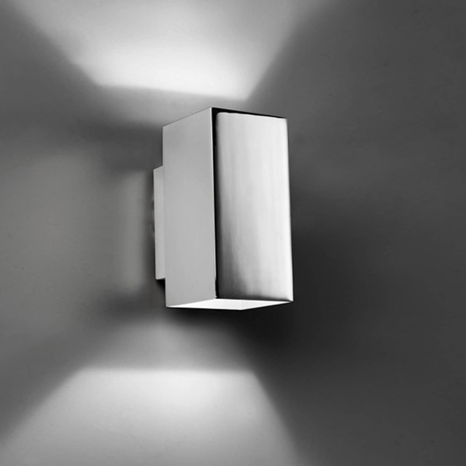 Up-down-vegglampe Basic LED, krom