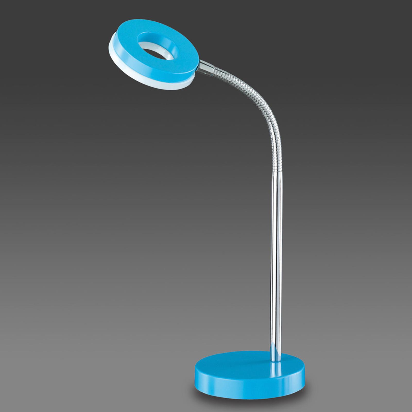 Sininen LED-pöytälamppu Rennes
