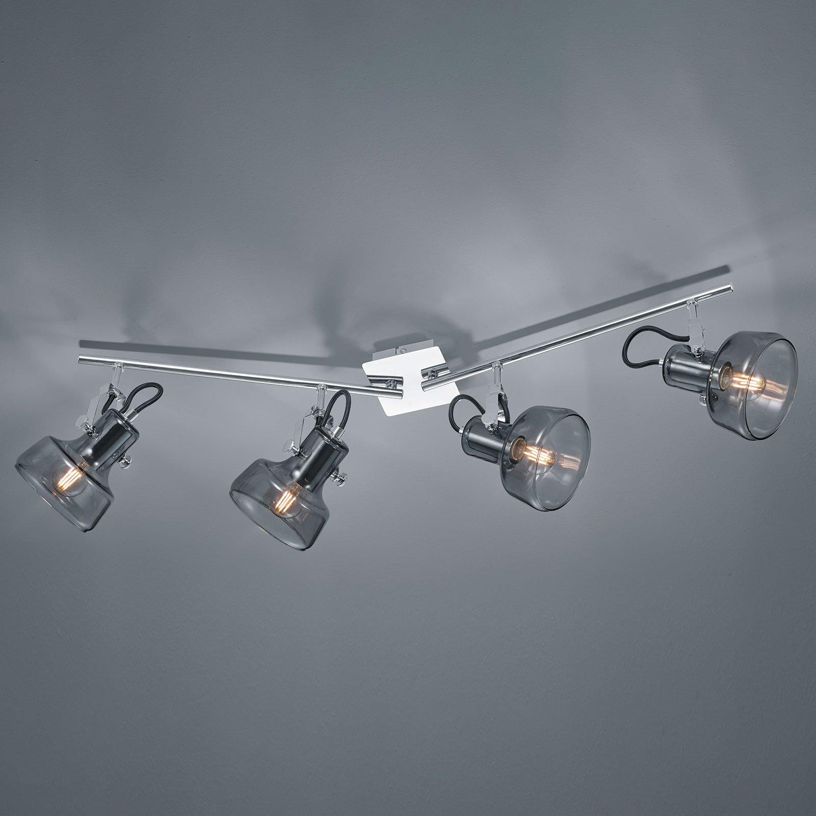 Taklampe Kolani 4 lyskilder