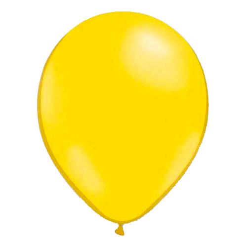 Miniballonger Gul - 100-pack