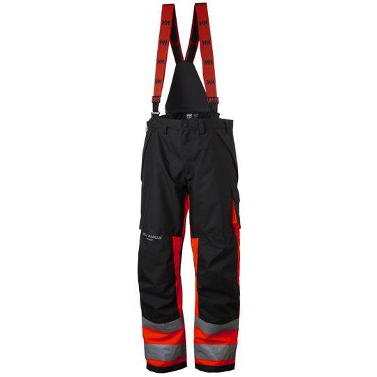Helly Hansen Workwear Alna Työhousut huomioväri, punainen/musta C46