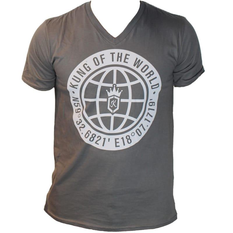 KUNG Globe T-Shirt Large