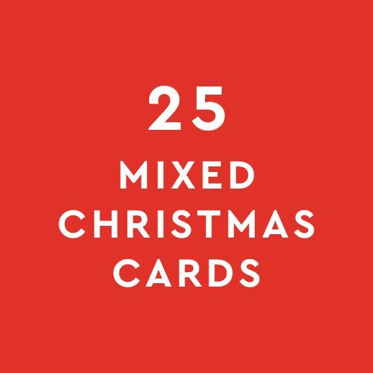 25 Christmas Card Mix Bundle