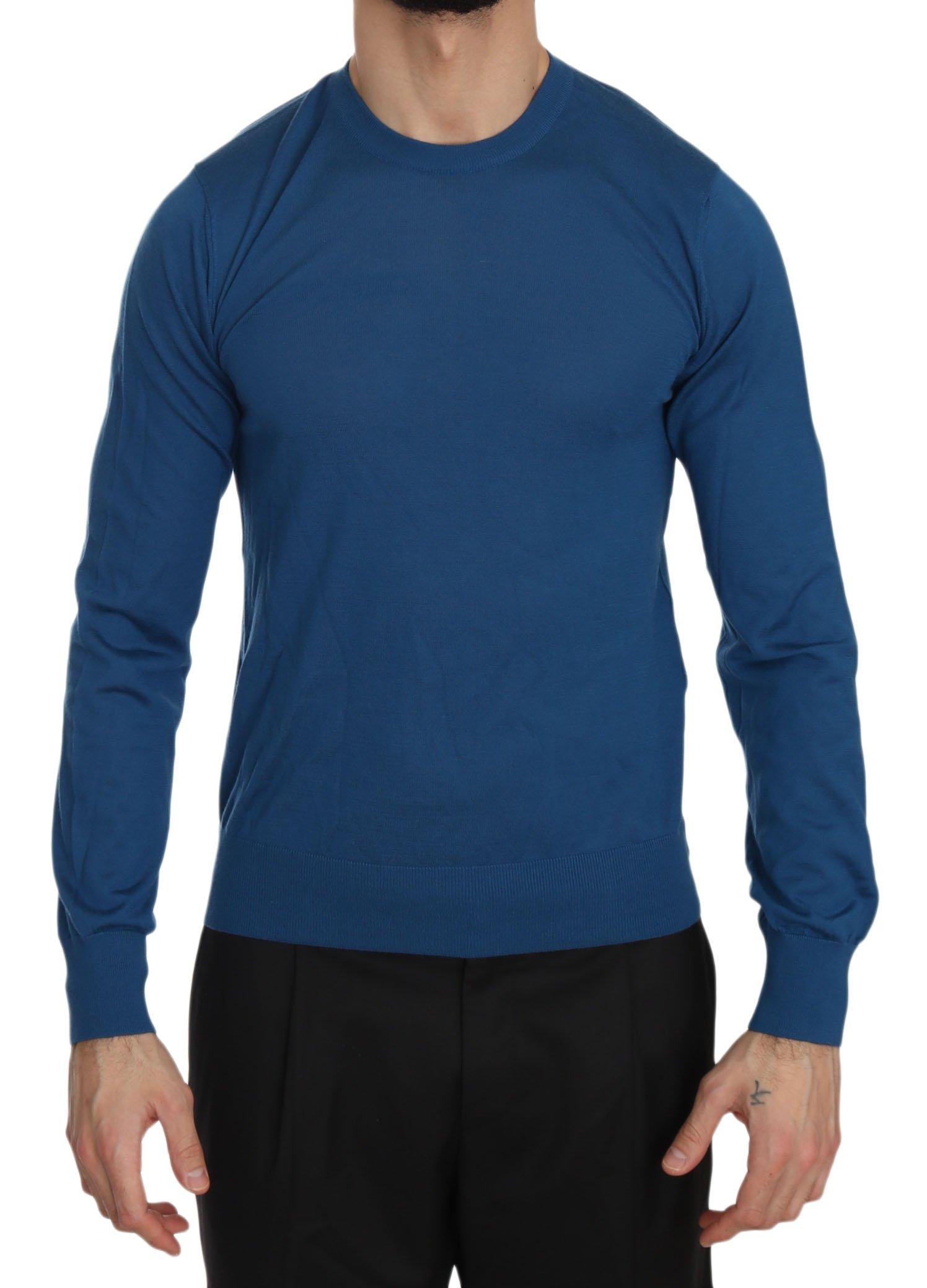 Dolce & Gabbana Men's Sweater Blue TSH3532 - IT44   XS