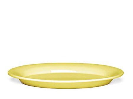 Ursula tallerken Gul Ø 28 cm