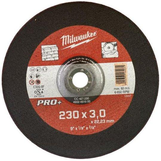 Milwaukee CC 42 PRO+ Katkaisulaikka 230x3 mm.