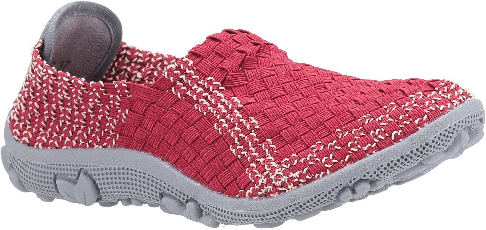 Fleet & Foster Women's Freida Slip On Sandal Various Colours 30118-51139 - Red 3