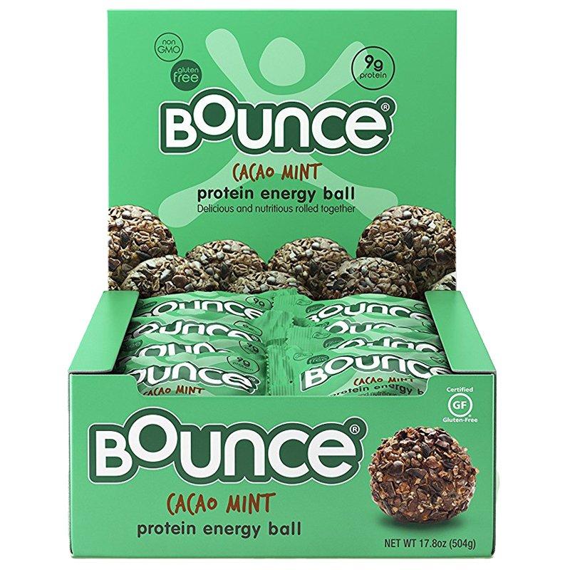 "Laatikollinen ""Energy Balls Cacao & Mint"" 12 x 42 g - 57% alennus"