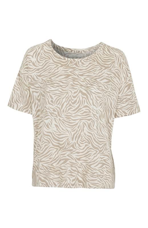 Cellbes Supermjuk tröja Supermjuk tröja Naturvit Mönstrad