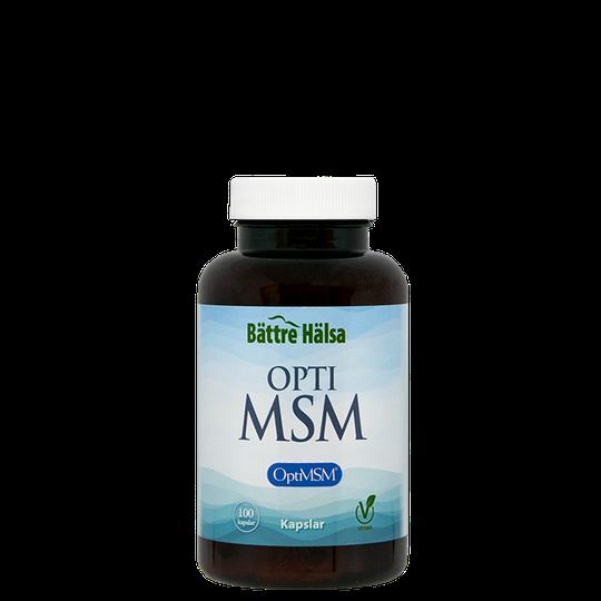 Ren MSM-OptiMSM 800 mg, 100 kapslar