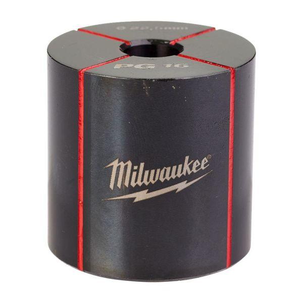 Milwaukee 4932430915 Hullstanser for rustfritt og mykt stål PG16