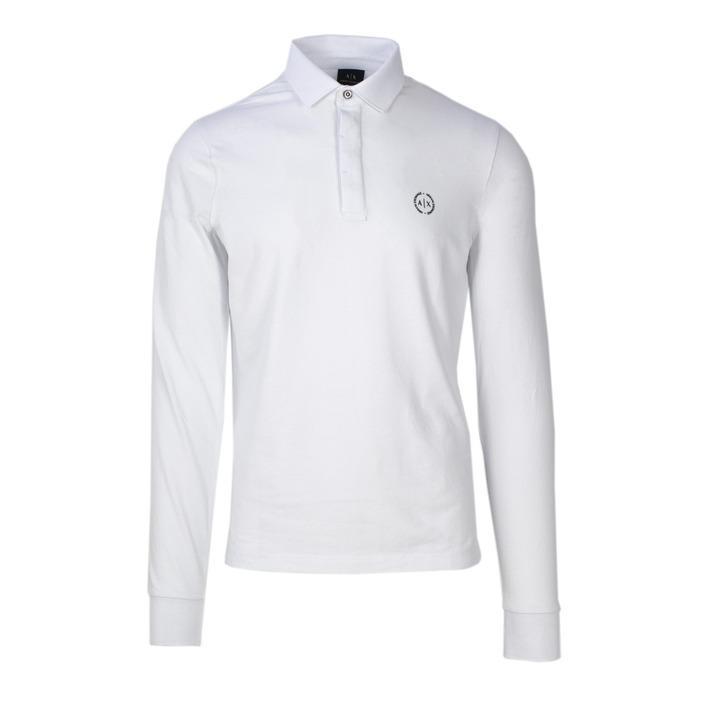 Armani Exchange Men's Polo Shirt White 165471 - white XL