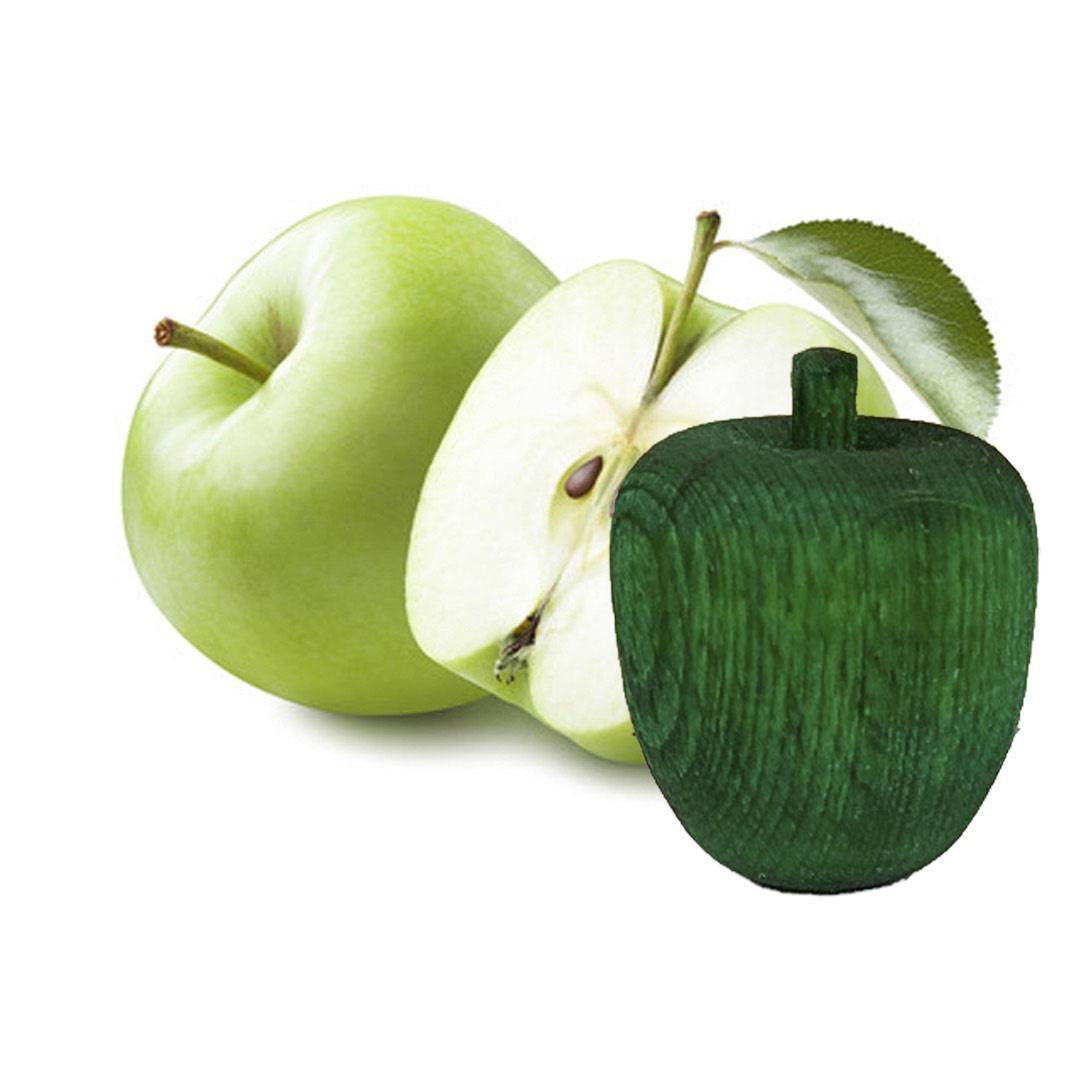 Doftboll i trä - Grönt äpple