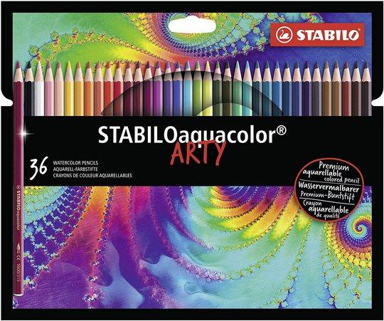 STABILO Akvarellpenner Arty, 36-pack