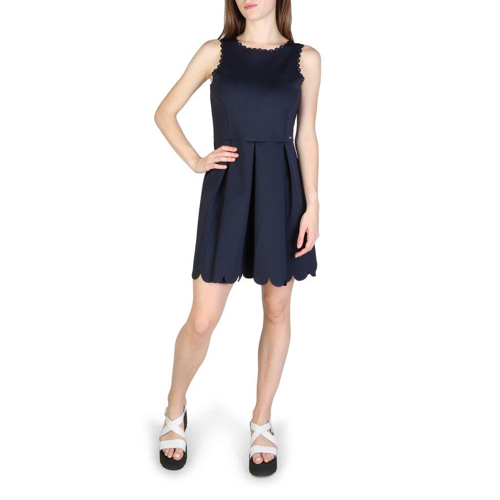 Armani Exchange Women's Dress Blue 3ZYA80YJJ2Z1510 - blue S