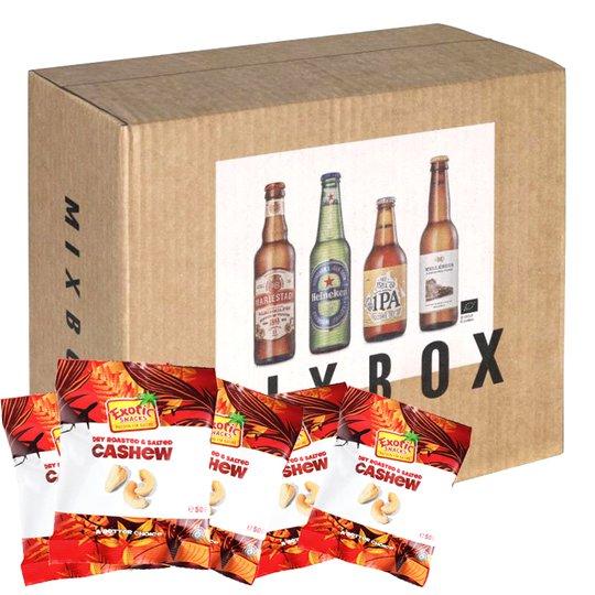 Öl Mixbox + Nötter - 21% rabatt