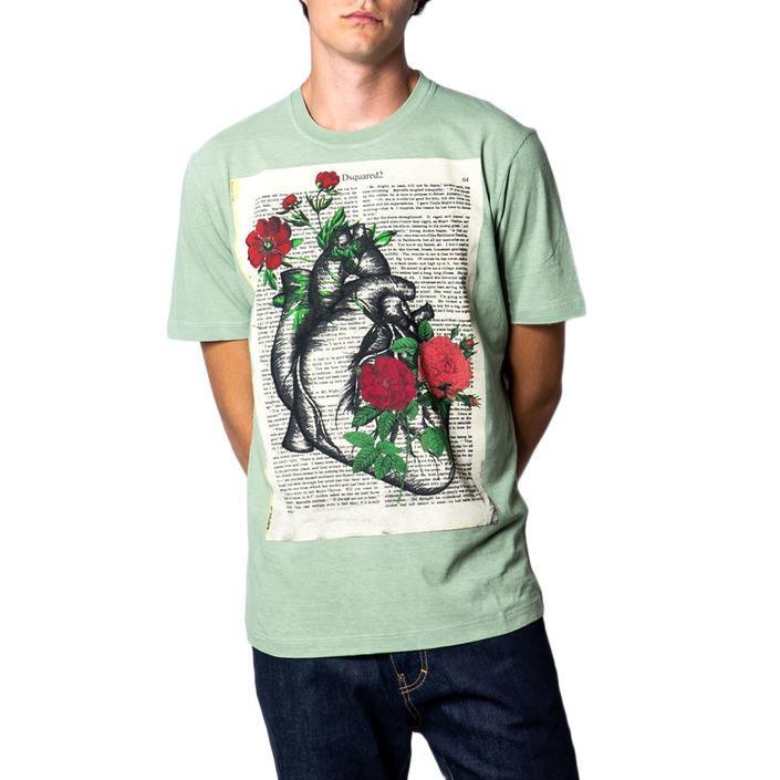 Dsquared Men's T-Shirt Green 175413 - green M