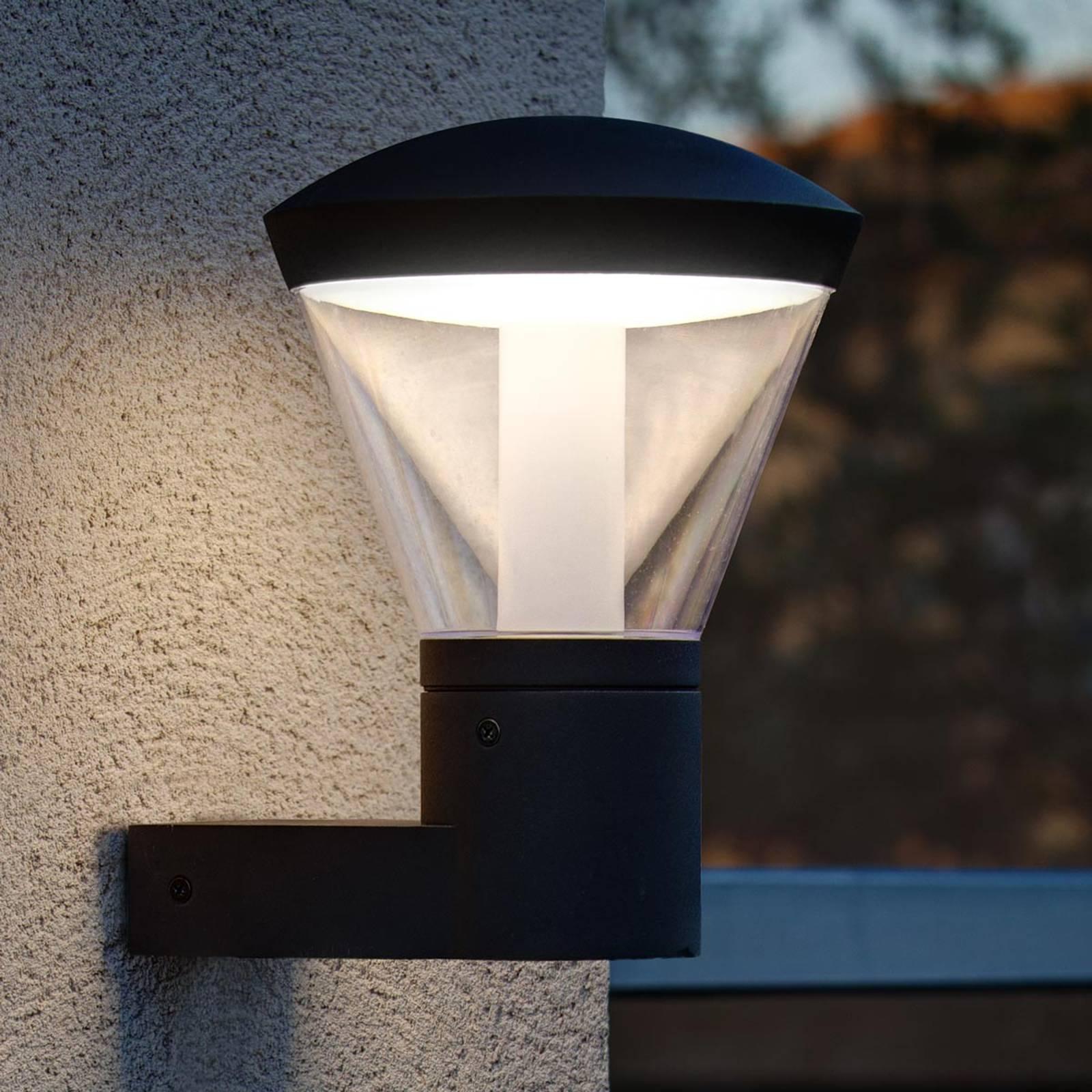 Tunnelmallinen LED-ulkoseinälamppu Shelby