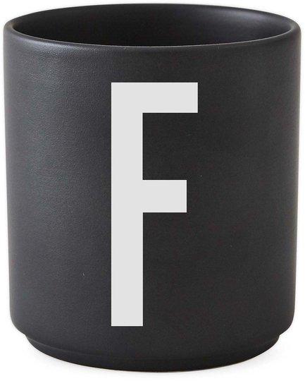 DL Kopp Porselen F, Svart