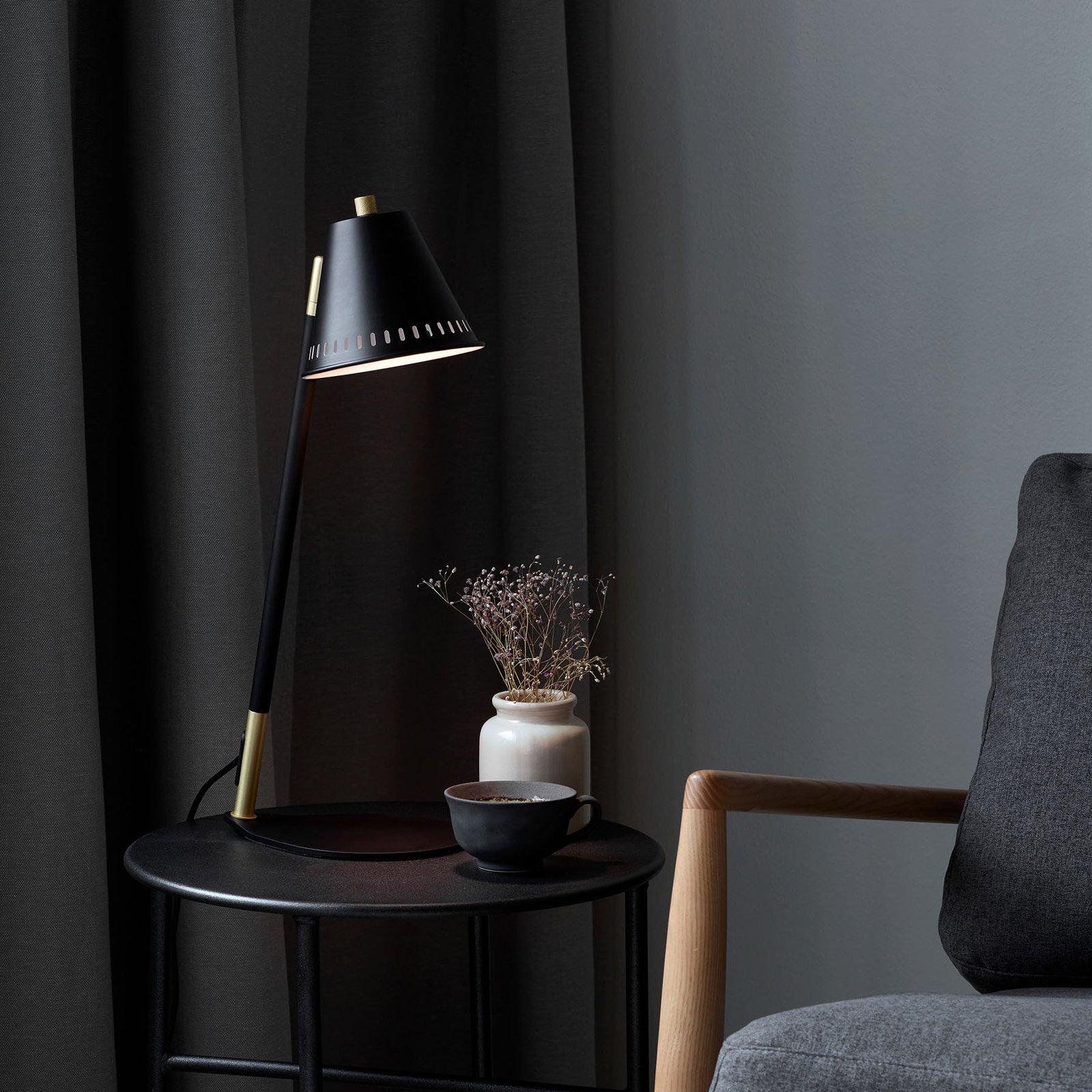 Bordlampe Pine, svart