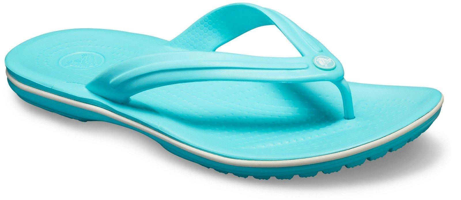Crocs Unisex Crocband Flip Flops Various Colours 21067 - Pool 3