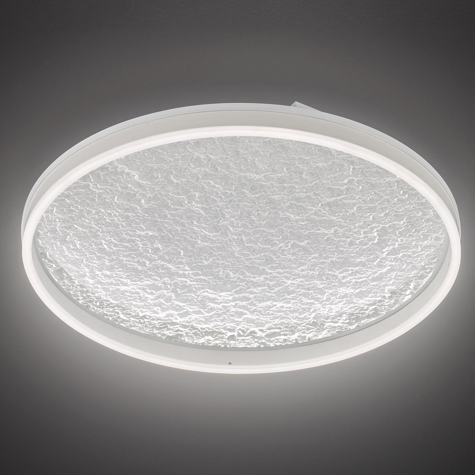 LED-kattolamppu Bali, himmennin, valkoinen, 60 cm