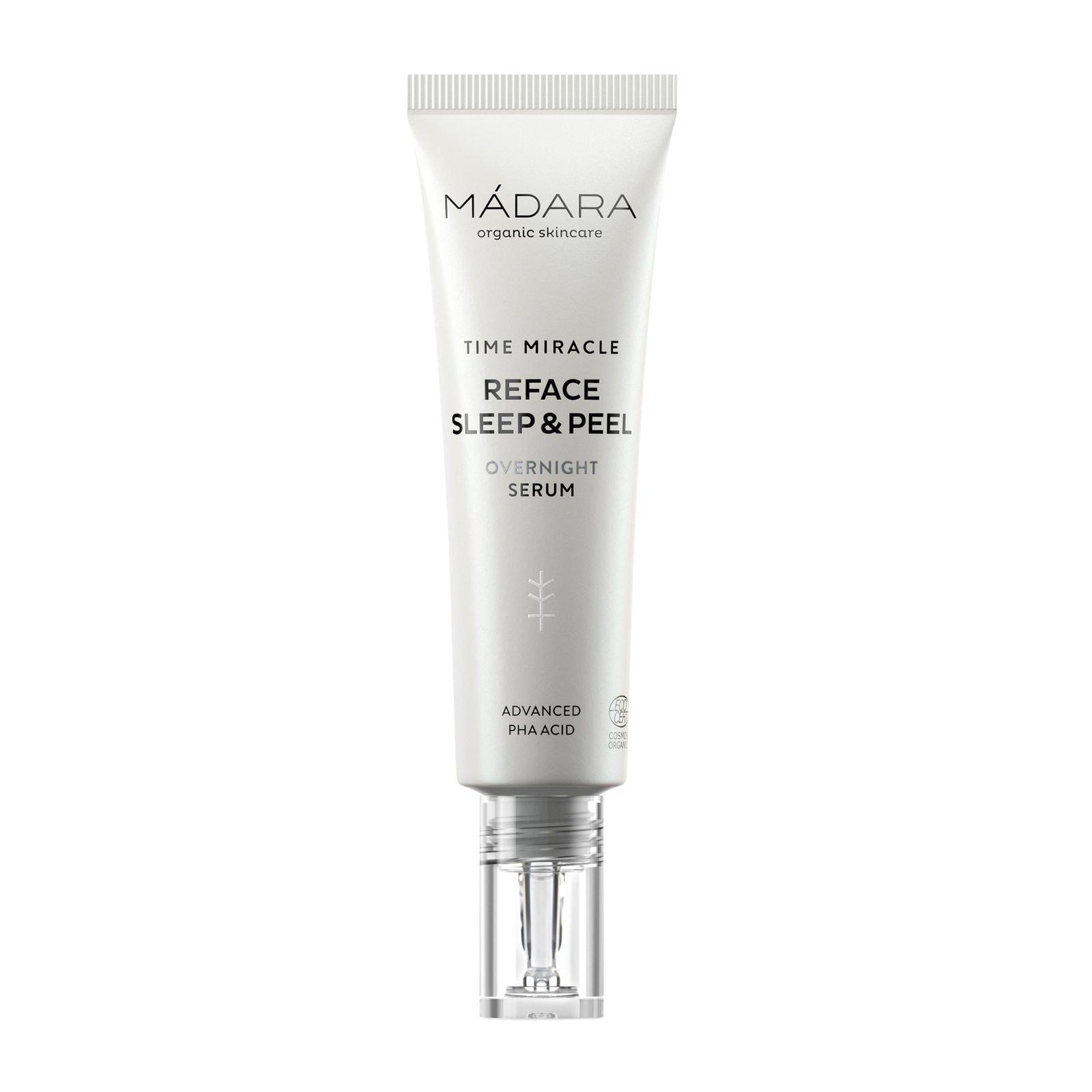 Mádara - Time Miracle Reface Sleep & Peel Overnight Serum 30 ml
