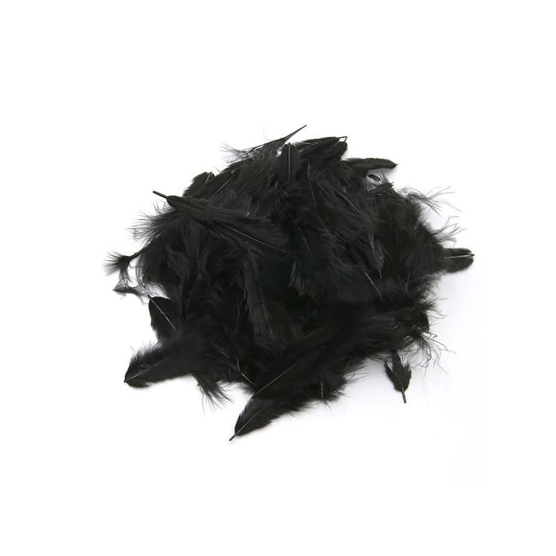 Mini-Marabou - Black Wapsi