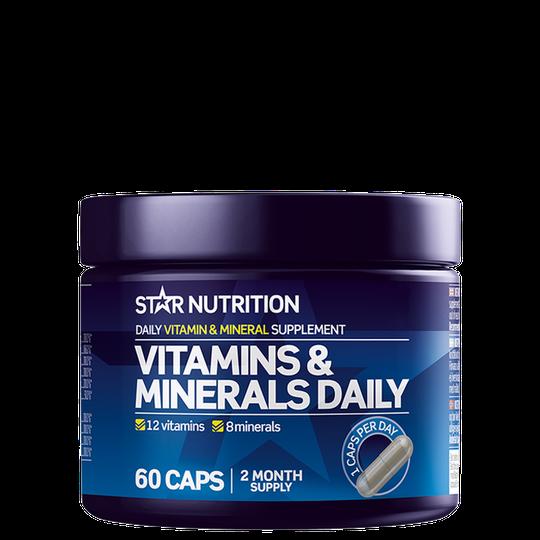 Vitamins & Minerals Daily, 60 caps
