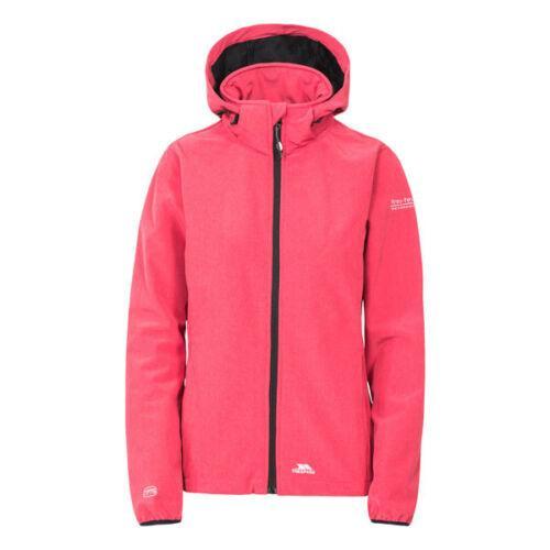 Trespass Women's Softshell Waterproof Jacket Various Colours Ramona - Raspberry S