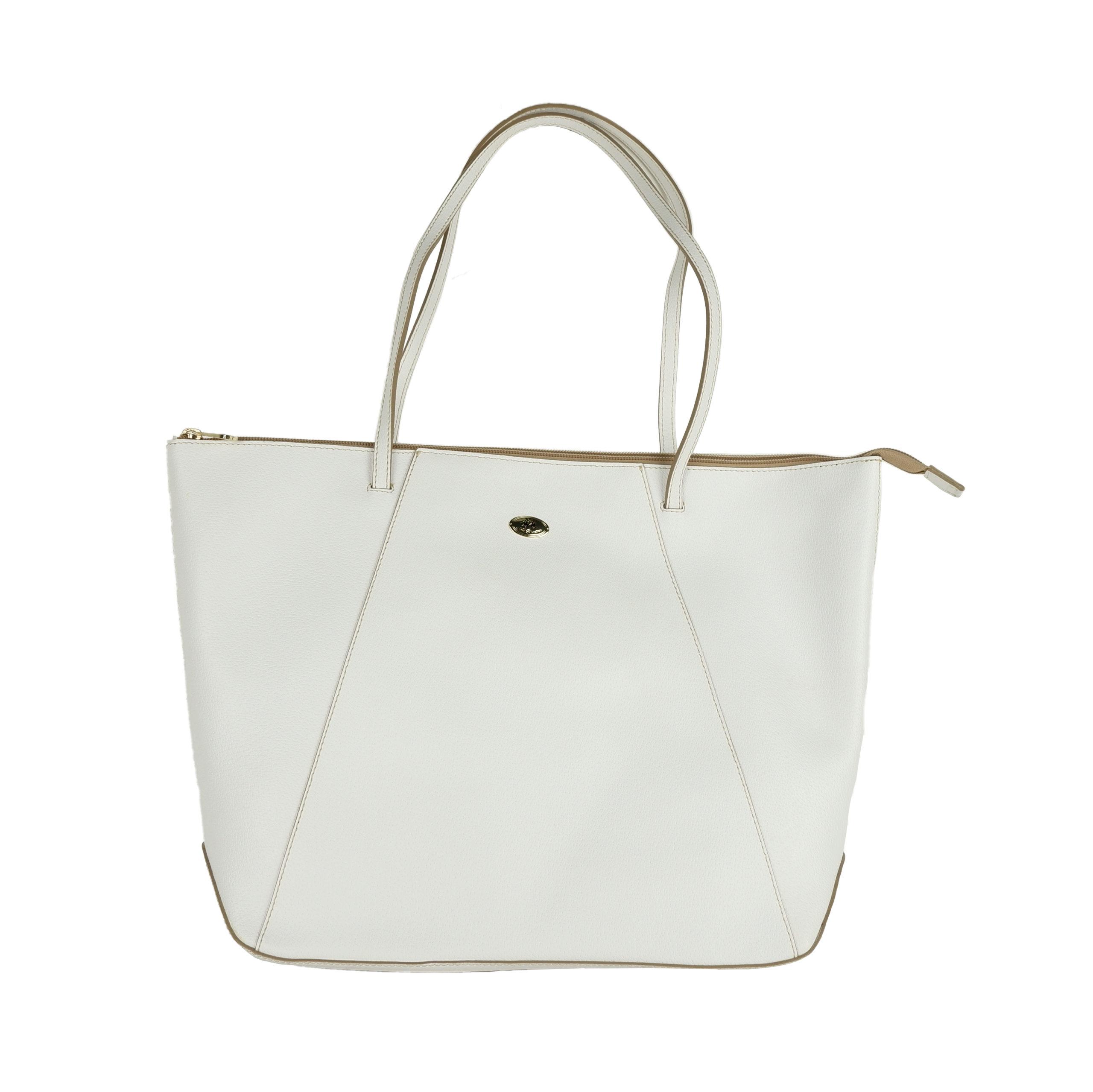 La Martina Women's Shoulder Bag White LA1421216