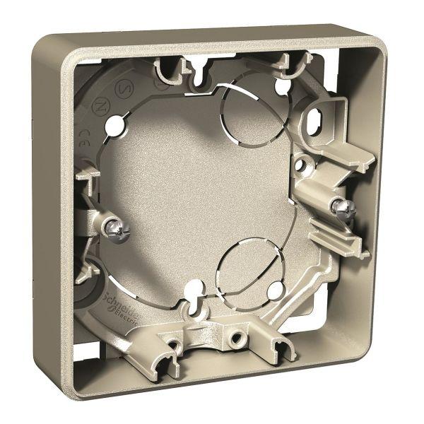Schneider Electric Exxact Korotuskehys Metalli, 21 mm 1-paikkainen