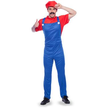 Super Mario maskeraddräkt M-L