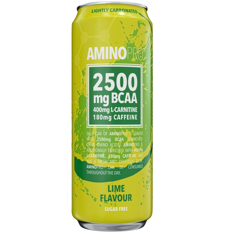 """BCAA-dryck """"Lime"""" 330ml - 50% rabatt"""