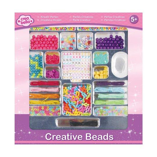 Crea Bella Creative Beads Alphabet, Fargerik