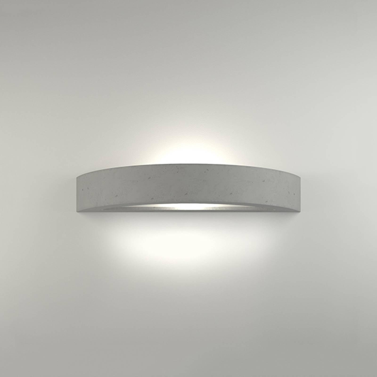 LED-vegglampe 2455 betong 3 000 K ikke-dimbar