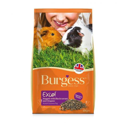 Burgess Excel Guinea Pig Adult with Blackcurrant & Oregano (2 kg)