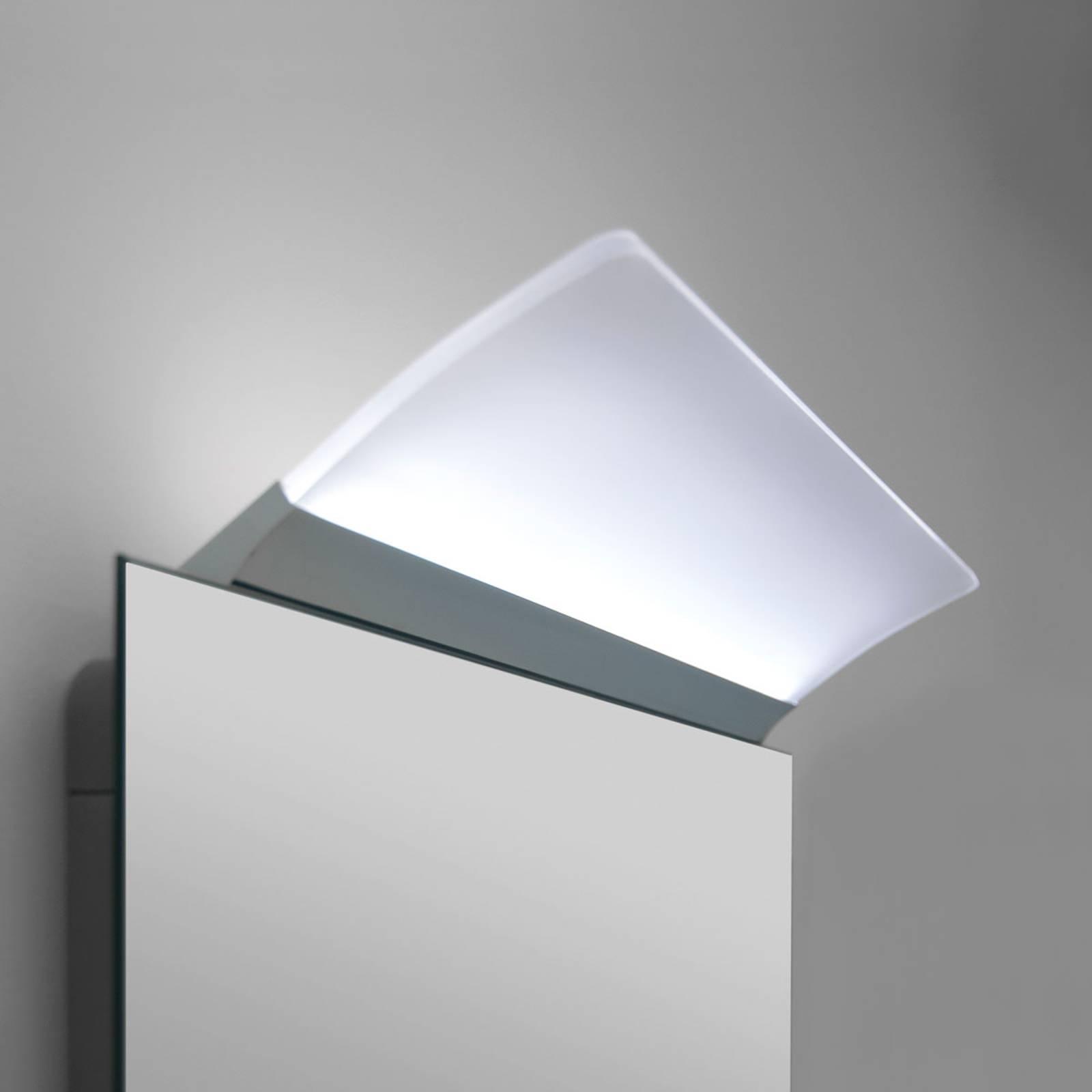 Litteä LED-peilivalaisin Angela, IP44, 30 cm