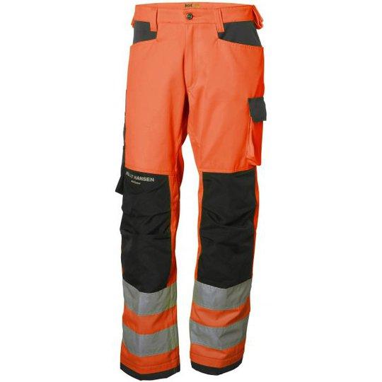 Helly Hansen Workwear Alna Työhousut huomioväri, oranssi/harmaa C44