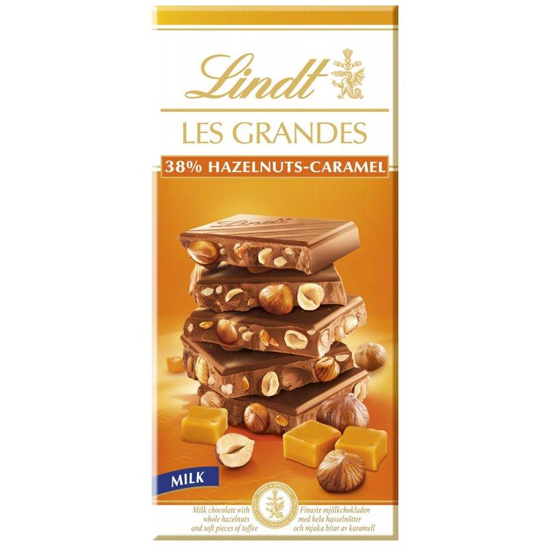 """Mjölkchoklad """"Hazelnuts Caramel"""" 150g - 50% rabatt"""