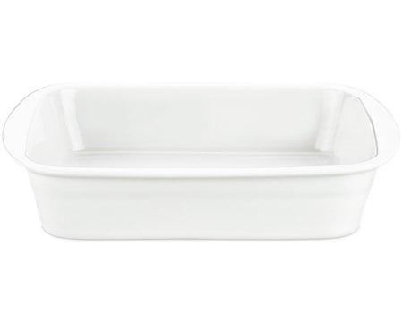 Lasagnefat hvit, 3,5 liter 25x34 cm