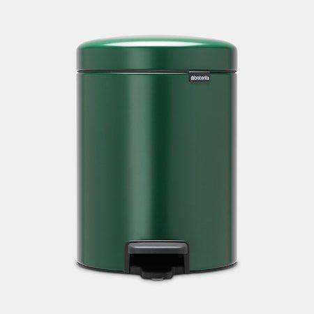 NewIcon Pedalbøtte Pine Green 5 liter