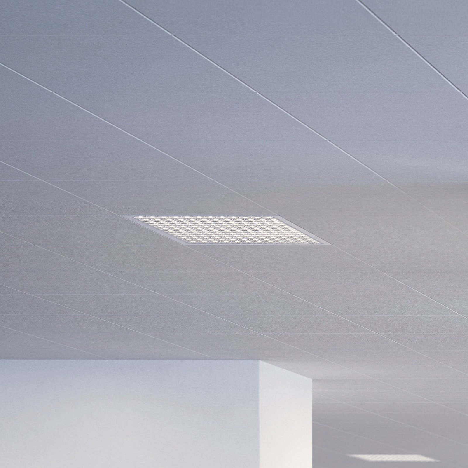Regent Dime Office-innf.lampe 62,1cm 43 W 4000K