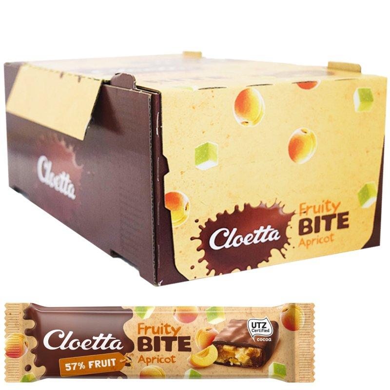 """Laatikollinen hedelmä-, mysli-, suklaapatukoita """"Apricot"""" 35 x 30 g - 67% alennus"""