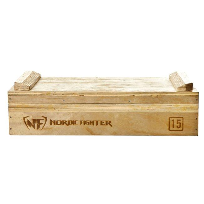 Nordic Fighter Wooden Jerk Block 15 cm (Par), Jerk box