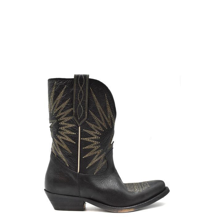 Golden Goose Women's Boot Black 179660 - black 35