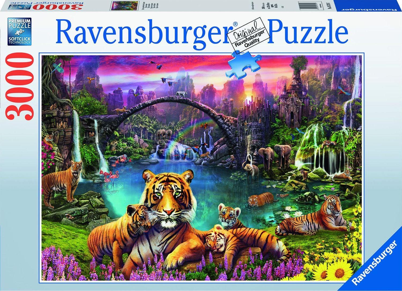 Ravensburger Pussel Tigrar I Paradiset, 3000 Bitar