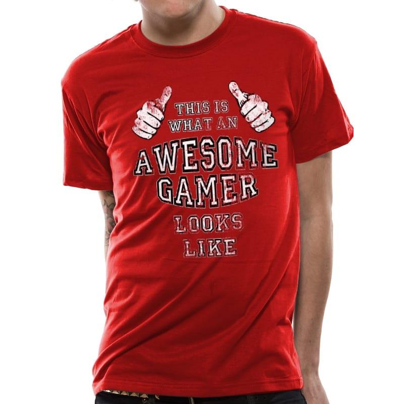 Awesome Gamer T-Shirt, Medium